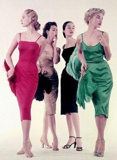 50s fashion models