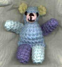 Little Crocheted Teddy Bear pattern