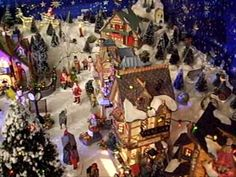 Lemax christmas displays - Google Search