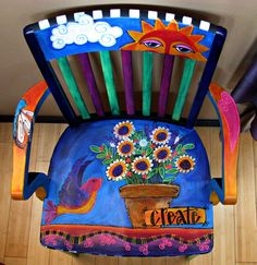 Hand painted furniture and more by Laurie Miller Designs