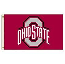 Ohio State Flag Kit with 3' X 5' Flag and 6' Aluminum Pole