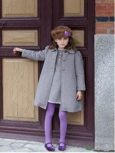 Kids Style - gray coat for kids