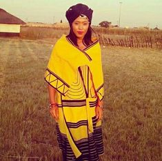 Traditional Dresses Designs, African Fashion Traditional, South African Fashion, African Fashion Dresses, Traditional Outfits, Traditional Design, Xhosa Attire, African Attire, African Wear