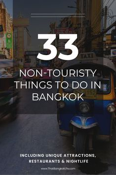 Bangkok Travel is an awesome city but as an expat here, it is hard to avoid the crowds! That is why we are sharing 33 non-touristy things to do in Bangkok, including local markets and great places to eat in Bangkok, Thailand as well as Bangkok Nightlife. Thailand Travel Guide, Bangkok Travel, Visit Thailand, Asia Travel, Bangkok Thailand, Croatia Travel, Hawaii Travel, Travel Advice, Travel Guides