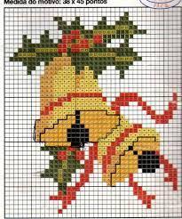Resultado de imagen para bordado xadrez de natal