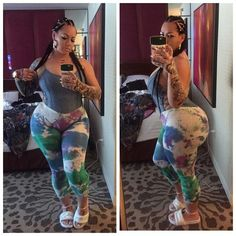 #wcw #lostFiles #memorialdayweekend #elke #iloveElke #curves #thick #ink #braids #elkethestallion #vegas CLICK LINK IN BIO cause NEW video coming today!!