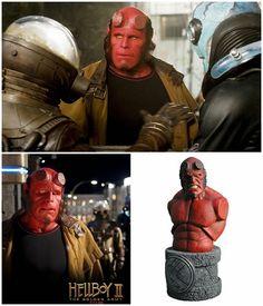 Ron Perlman as Hellboy Movie Figure