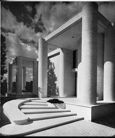 Wallace Residence | 1964 | Athens, Alabama | Architect Paul Rudolph