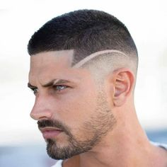 Short Haircuts for Men That Are Trending Right Now 14 Best Short Haircuts for Men to Try This Year – Comb Over Haircut, Fade Haircut, Cool Mens Haircuts, Best Short Haircuts, Modern Haircuts, Short Comb Over, Short Hair Cuts, Short Hair Styles, Hard Part Haircut