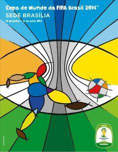 Cartazes das Cidades-Sede da Copa do Mundo 2014
