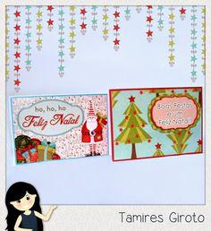 Scrapbook by Tamy- DIY, Coisas fofas e tudo sobre Scrapbook artesanal, híbrido e digital!: Cartão natal