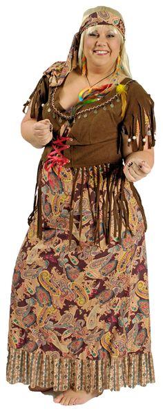 Hippie kleid lang fasching