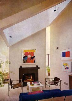 Le Corbusier: The Rock Star of Furniture Design Bauhaus Interior, Interior Architecture, Chinese Architecture, Futuristic Architecture, Vintage Interior Design, Vintage Interiors, Deco Retro, Style Deco, Lounge