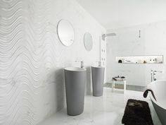 @porcelanosa Marmol Carrara Blanco ceramic tiles