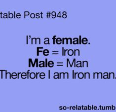 I actually don't want to be Iron Man, I just want the tech.