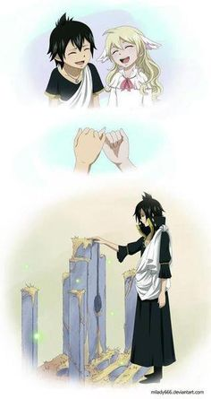 Mavis and Zeref...well just gonna go cry in a corner now....