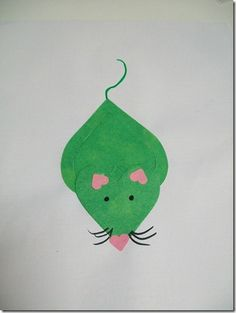 Make animals with heart cut-outs. Mouse, butterfly, fish, cat, and more.