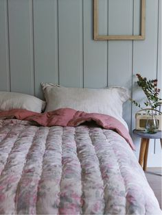 Wild Rose Quilted Bedspread   |  Cox & Cox