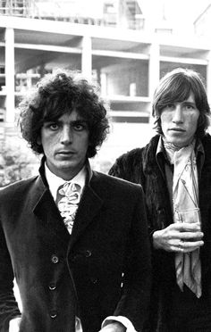 Syd Barrett, Roger Waters, both went to my school in Cambridge — Hills Road School for Boys
