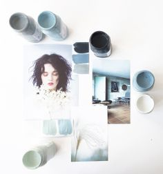 Eclectic Trends:  Mood board prepping with autentico chalk paint #moodboard