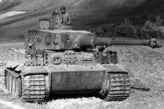 A single Tiger 1 cost the same number of skilled man hours to produce as two Panther tanks or three Messerschmit 109 fighters, and at 57 English tonnes overall weight it required 2.75 gallons of gasoline to drive one mile.   Tiger tanks were frequently destroyed in combat by the use of heavy artillery to pentrate the thin upper deck and turret top, or the tanks had to be ambushed and shot in the sides or rear at very close range. All 1,355 Tigers were built, within two years (1942 to 1944).