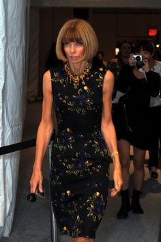 Anna Wintour Photos - Editor-in-Chief of American Vogue, Anna Wintour attends Mercedes-Benz Fashion Week at Bryant Park on September 15, 2009 in New York, New York. - Around Bryant Park - Day 6 - Spring 2010 MBFW
