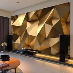Custom photo wallpaper stereo abstract space golden geometry mural modern art creative living room hotel study wall paper 3 d free widescreen desktop wallpaper free widescreen wallpaper from price dhgate com Custom Wallpaper, Photo Wallpaper, Wall Wallpaper, Widescreen Wallpaper, Wallpaper Size, Wallpaper Ideas, Desktop Wallpapers, Modern Wallpaper, Bedroom Wallpaper