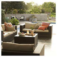 Home & Garden Living Ratán PE 4 piezas
