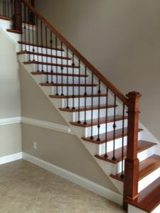 Image result for staircases with iron balusters