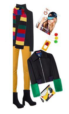 """Reality day-trips'"" by dianefantasy ❤ liked on Polyvore featuring Guild Prime, M.i.h Jeans, Chaos, Miu Miu, Chanel, Tak.Ori, PS Paul Smith, polyvorecommunity, brightcolors and polyvoreeditorial"