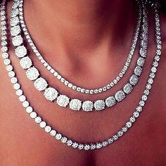 Rosamaria G Frangini ... 〽️ Diamond Necklace