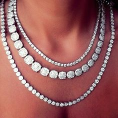 Rosamaria G Frangini ... 〽️ Diamond Necklace