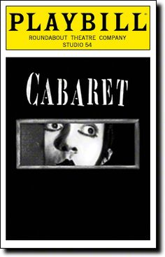 Cabaret, starring Alan Cumming and Michelle Williams, begins previews tonight at Studio 54