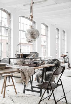 Cool Scandinavian Chic Meets Warm Ethnic Vibes | Dear Designer