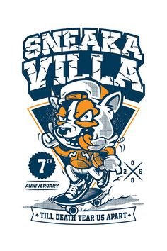Sneaka Villa 7th Anniversary by thinkd