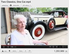 Love it! 102-Year-Old Woman Still Drives Her 82-Year-Old Car
