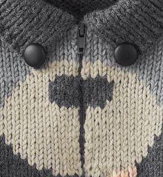 knit kids sweaters Baby Sweater Knitting Pattern, Knitting Charts, Baby Knitting Patterns, Knitting Stitches, Crochet Patterns, Knitting For Kids, Crochet For Kids, Crochet Baby, Knit Crochet