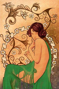 Obra basada en el estilo modernista del siglo XIX por Juan Antonio Capitán López