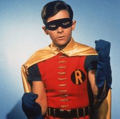 """Burt Ward's Robin was the Rodney Dangerfield of superheroes in the TV version of """"Batman."""" Description from ocregister.com. I searched for this on bing.com/images"""