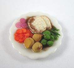 Hey, I found this really awesome Etsy listing at https://www.etsy.com/listing/92288519/dollhouse-miniature-food-large-turkey