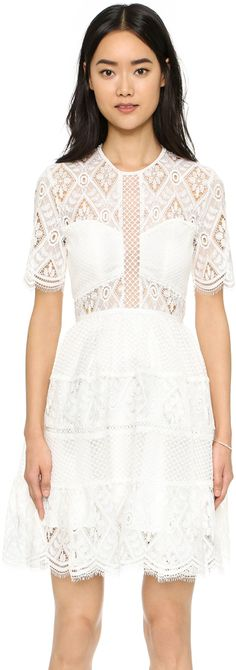 Alexis Luciana Lace Dress