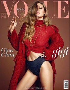 Gigi Hadid for Vogue Korea, September 2017. ❤