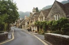 Lacock, England. I love the Cotwolds and can't wait to go back.  This village was used in the filming of Pride and Prejudice and Harry Potter.