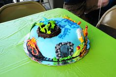 "Cakes by Kimberly: Dinosaur Train Cake - From PBS show ""Dinosaur Train"""