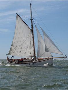 """Sailing """"Raven"""" -Scheepszaak.nl - Gaffel kotter"""