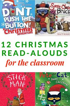 12 Christmas Books for Kids that are perfect for reading in the classroom. Christmas Books For Kids, Childrens Christmas, Christmas Activities, Childrens Books, Christmas Holiday, Kids Reading, Reading Activities, Special Education Classroom, Classroom Community