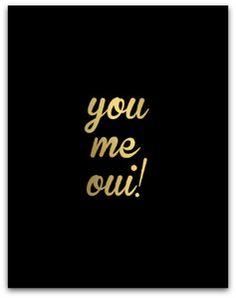 you me oui!