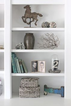 how to style a bookcase - steven and chris | decorate bookshelves