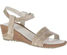 1040cdaa6c6c Merrell Revalli Aura Strap Leather Wedge Sandals