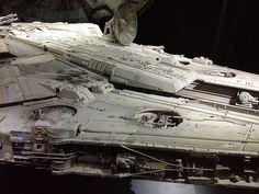 Millennium Falcon vintage model used in filming: 162549 | Flickr